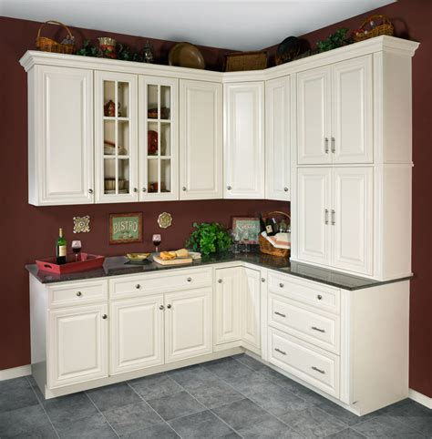 kitchen cabinets wall antique white kitchen cabinets