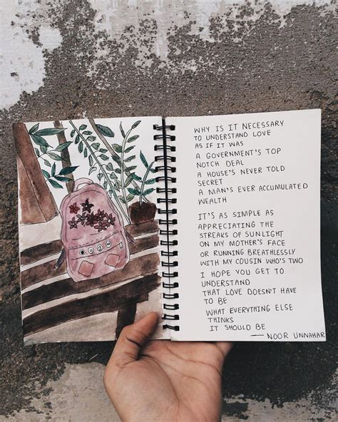 themes for poetry tumblr how you understand love poetry by noor unnahar art