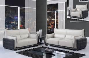 Black And Grey Leather Sofa Black And Grey Contemporary 3 Bonded Leather Sofa Set Boston Massachusetts Gf220