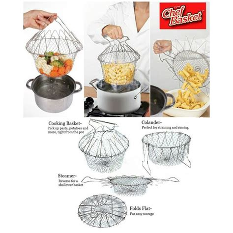 Chef Basket Kitchen Tools chef basket 12 in 1 kitchen tool as seen on tv