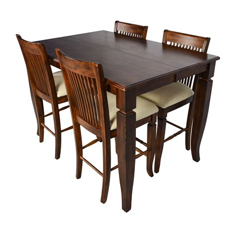 tall dining room tables 75 off tall extendable dining room table set tables