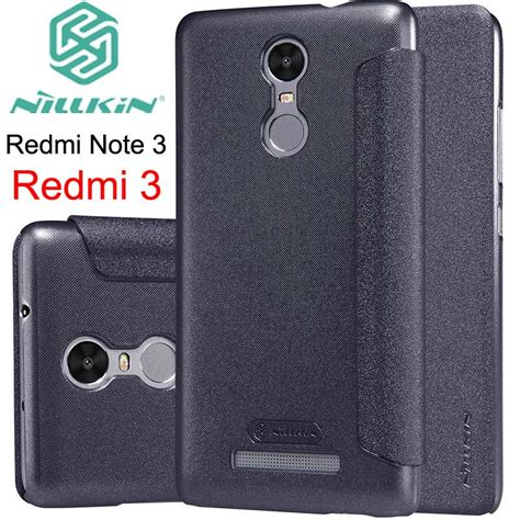 Nillkin Sparkle Xiaomi Redmi Note 3 Leather Flip for xiaomi redmi note 3 nillkin sparkle leather flip