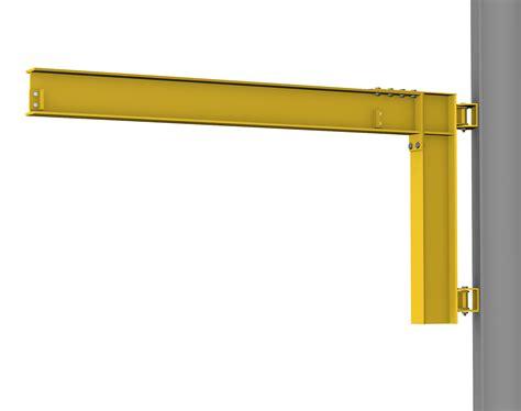 crane wall mount wall cantilever jib crane hoosier crane service