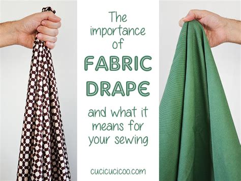 what does drape mean why fabric drape is so important in your sewing cucicucicoo
