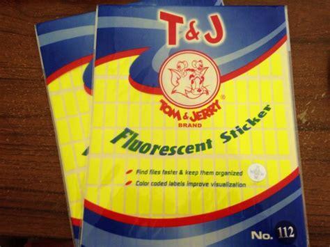 Tom Jerry Sticker Label No 112 distributor alat tulis kantor dan stationary label tom