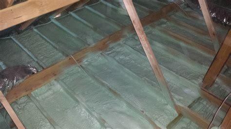 Spray Foam Attic Ceiling by Attic Air Sealing Spray Foam Rental Equipment U S