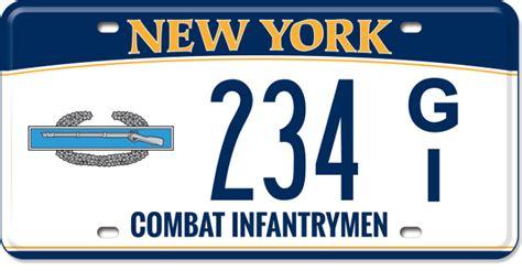 Dmv Vanity Plates Ny by Combat Infantrymen New York State Of Opportunity