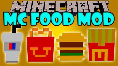 mod minecraft hack gamemode mc food mod comida rapida de mcdonald s minecraft mod