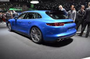 Porsche Sport Porsche Panamera Sport Turismo Unveiled In Geneva