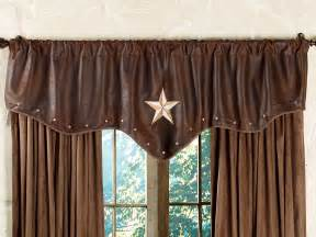 Chocolate Curtains With Valance Starlight Trails Chocolate Valance