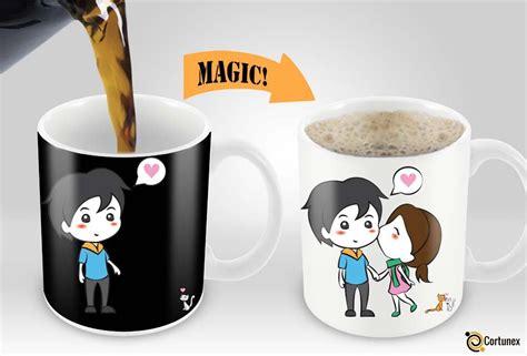 coffee mug design magic coffee mugs heat sensitive color changing coffee mug