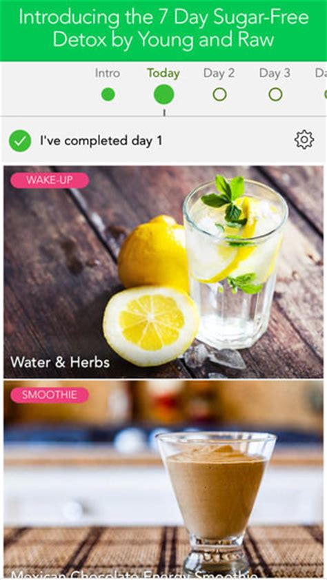 7 Day Plant Based Detox by Sugar Detox Apps 7 Day Sugar Detox