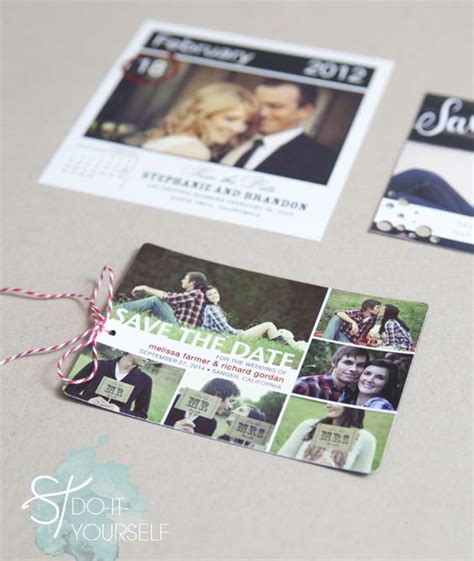 Wedding Paper Divas Save The Date Postcards by Easily Embellished Save The Dates With Wedding Paper Divas
