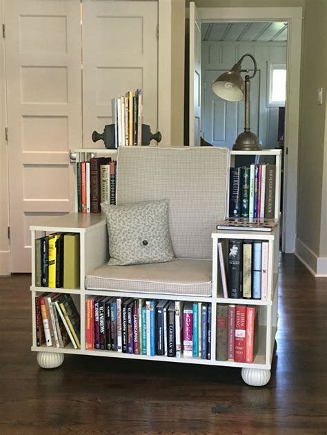 bookcase with reading nook 25 best ideas about homemade bookshelves on pinterest
