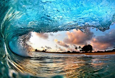 imagenes de olas impresionantes dentro de las impresionantes olas de hawai fotos