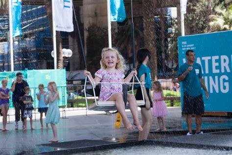 sydney swing festival sydney festival waterfall swing festival village the