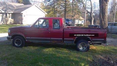 1993 ford truck 1993 ford f 150 xlt extended cab 2 door 5 0l
