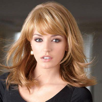 framed hairstyles with bangs contemporary longer bangs blend into the layered sides to