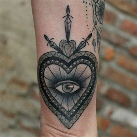 evil eye tattoo on wrist 17 best images about occult tattoos on occult