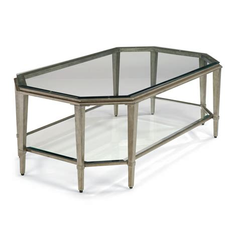 flexsteel 6693 031 prism rectangular coffee table discount
