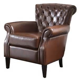 Leather Chair A Leather Club Chair A Great Addition To Your House