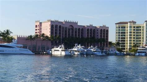 boat show boca raton the yacht club as seen from the mizner s dream shuttle