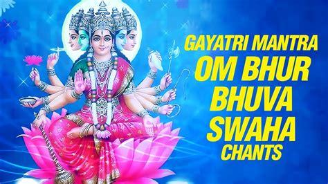 Gayatri Maxy gayatri mantra om bhur bhuvah svaha 108 with lyrics by