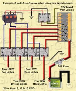Wiring Car Lighting Board Relay Wiring For Led Light Bar Ih8mud Forum