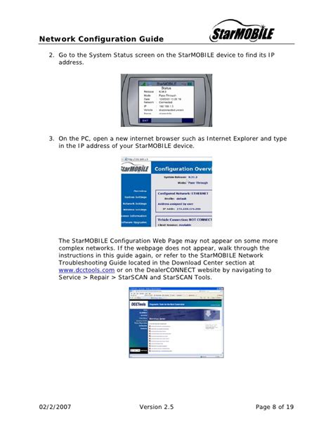 configuration bureau starmobile configuration guide