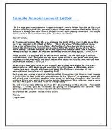 promotion announcement template announcement letters 9 free word pdf documents