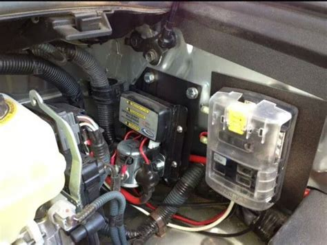 2000 Jeep Battery Dual Battery System With Blue Sea Auxiliary Fuse Block