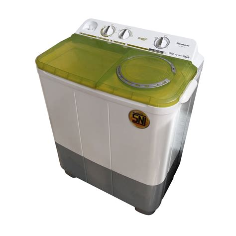 Mesin Cuci Panasonic 2 Tabung 9 Kg jual panasonic naw96fc2g mesin cuci 2 tabung harga kualitas terjamin blibli