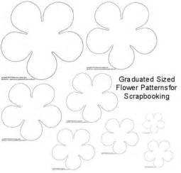paper flower cut out template diy torn paper flower embellishments for scrapbooking