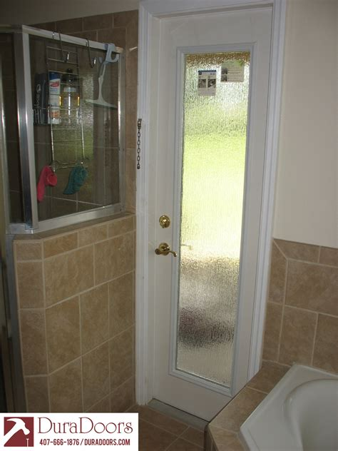 privacy for doors bathroom door with odl privacy glass duradoors