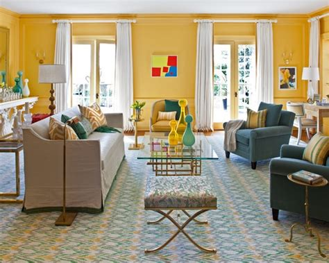 Yellow And Turquoise Living Room by Yellow Turquoise Living Room Home Ideas