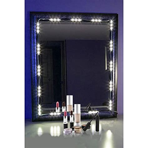 Vanity Mirror Frame Kit by Penson Lighted Mirror Led Light For Cosmetic Makeup Vanity