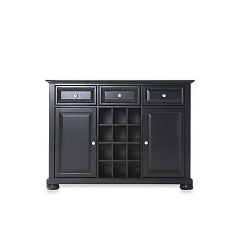 Buy Crosley Alexandria Buffet Server Sideboard Cabinet In Crosley Buffet Server