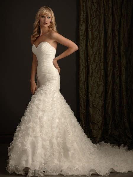 imagenes vestidos de novia cola de sirena vestidos estilo cola de sirena