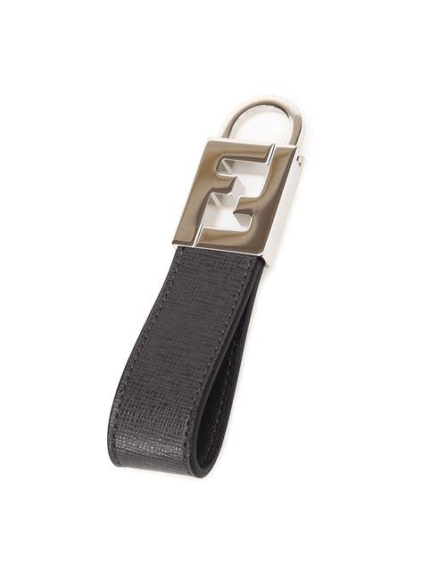 Fendi Nirina Ring 1199 Leather saffiano leather key ring by fendi key holders ikrix