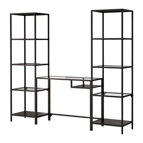 vittsj 214 shelving unit with laptop table ikea