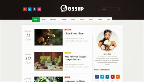 gallery themes blogger gossip blogger template blogger templates gallery