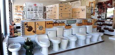 Plumbing Fixtures, Parts and Supplies in Our Kendall Showroom   Guillen's Plumbing Showroom