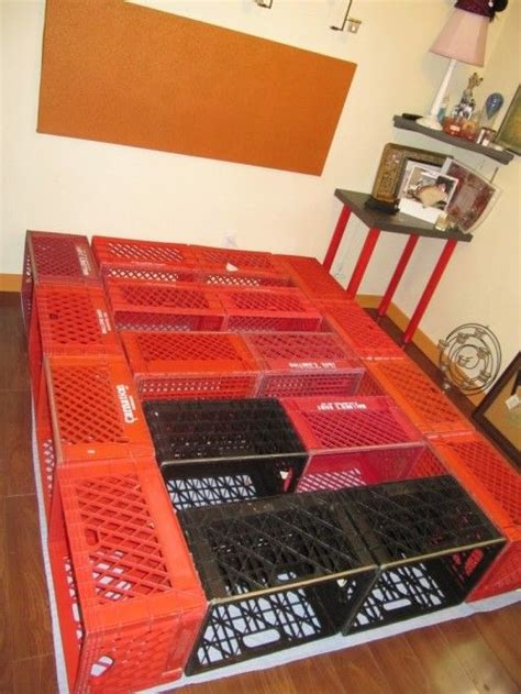 best 25 crate bed ideas on pinterest