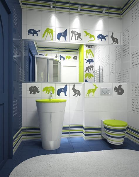 fun kids bathrooms colorful and funny kids bathrooms designs
