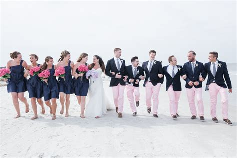preppy beach wedding at port royal golf club in hilton