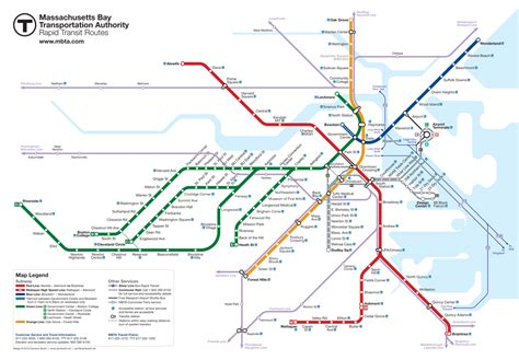 boston metro map boston subway map map of the world map