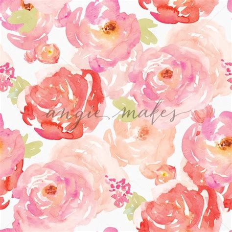 watercolor roses pattern pink and red watercolor roses pattern shabby chic rose