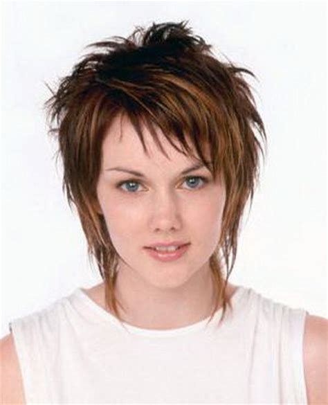 women over 50 funky hair color short shaggy hairstyles for women