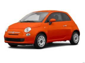 Fiat 500 Orange 2016 Fiat 500 Hatchback Maple Shade