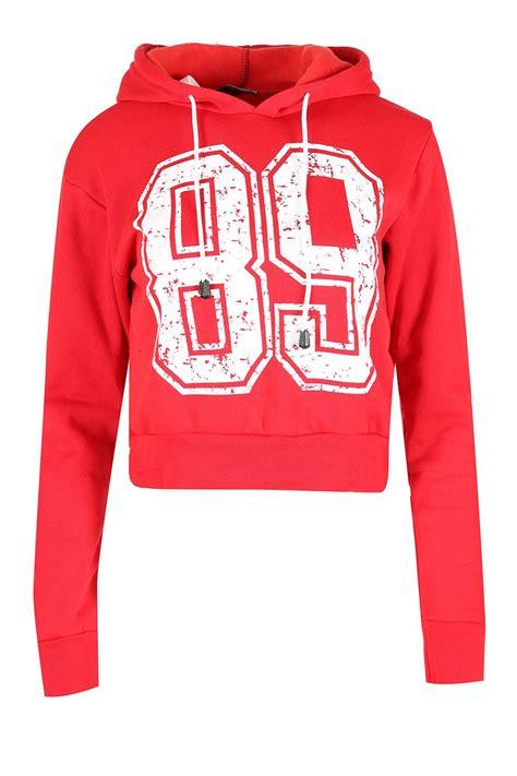 Sweater Crop Top Murah Bahan Flecee 1 womens sleeve cropped top pullover plain fleece sweatshirt hoody ebay